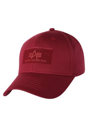 Caps - burgundy