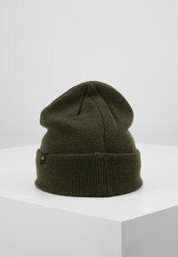 Alpha Industries - 3D BEANIE - Bonnet - dark green - 2