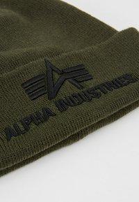Alpha Industries - 3D BEANIE - Bonnet - dark green - 5