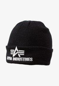 Alpha Industries - 3D BEANIE - Berretto - schwarz - 1