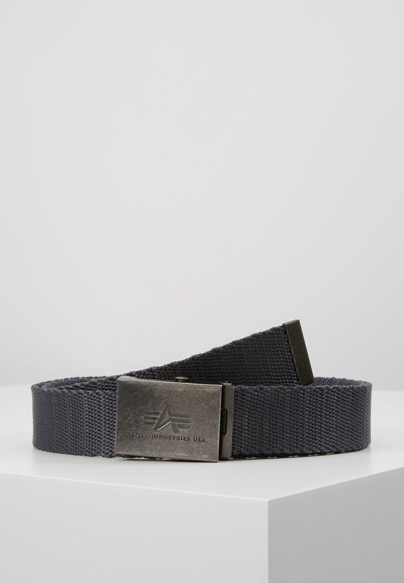 Alpha Industries - HEAVY DUTY BELT - Belt - grey