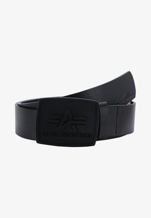 ALL BLACK BELT - Pásek - black