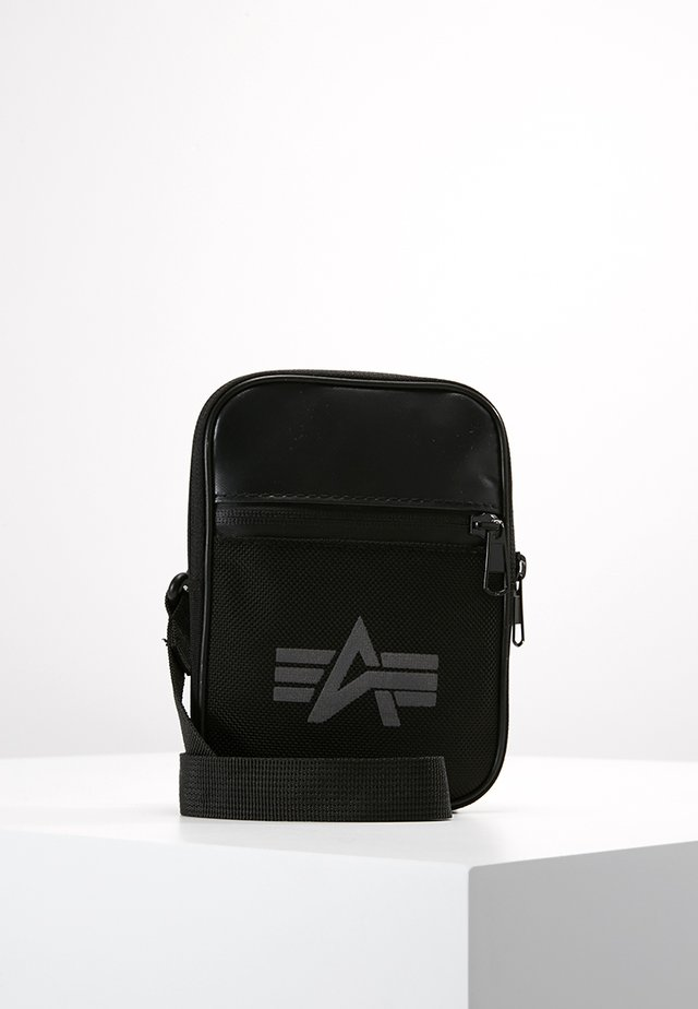 UTILITY BAG REFLECTIVE - Olkalaukku - black