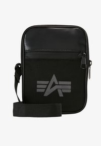 Alpha Industries - UTILITY BAG REFLECTIVE - Sac bandoulière - black - 5
