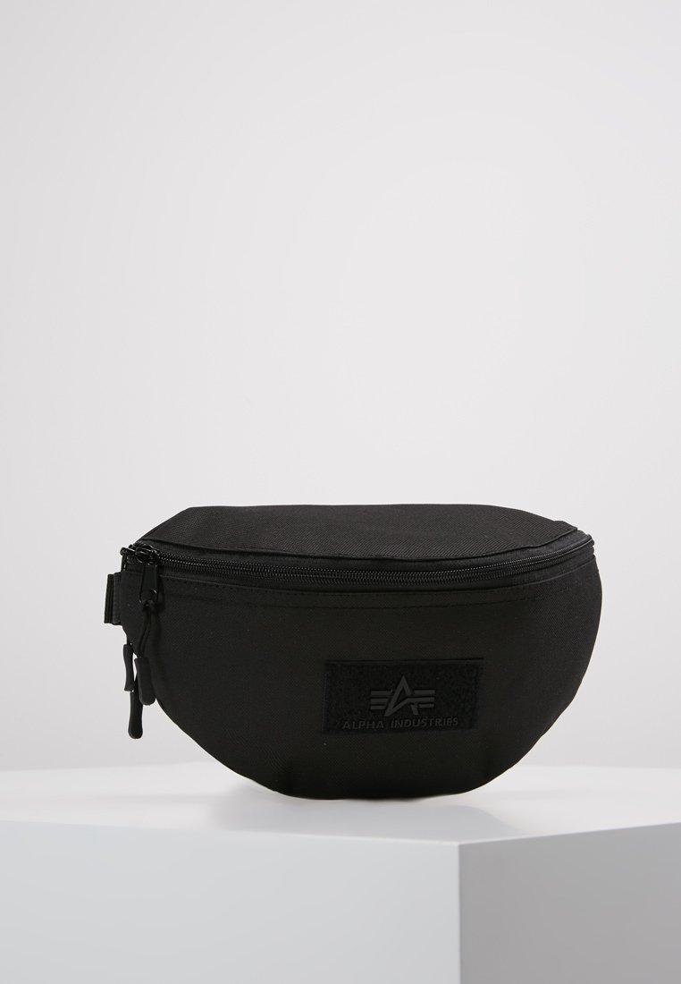 Alpha Industries - WAIST BAG - Ledvinka - black