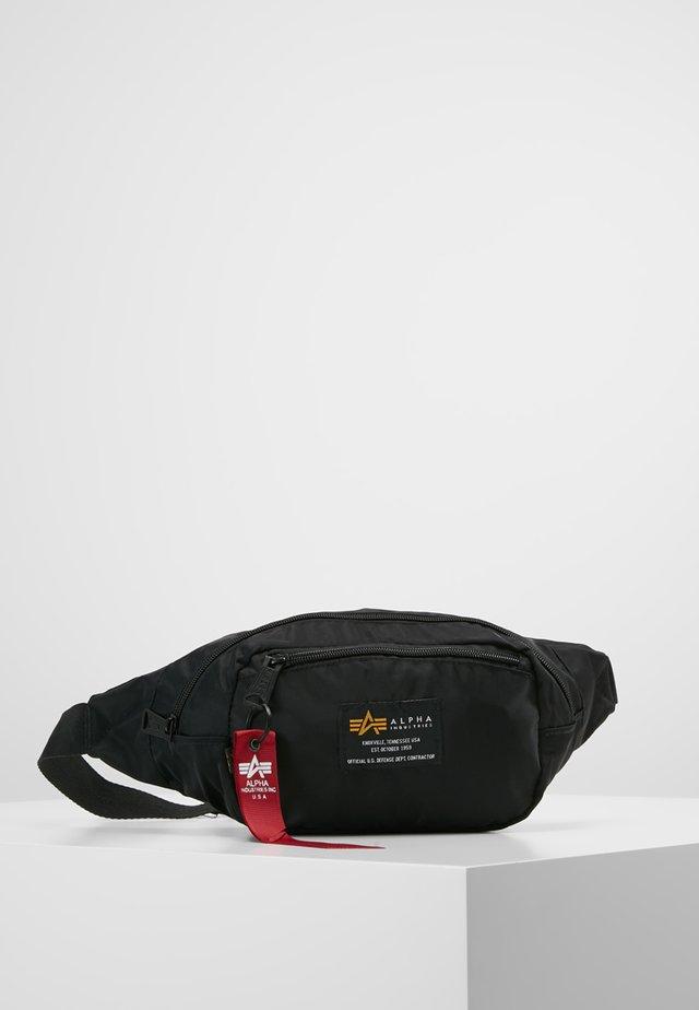 CREW WAISBAG - Bum bag - black