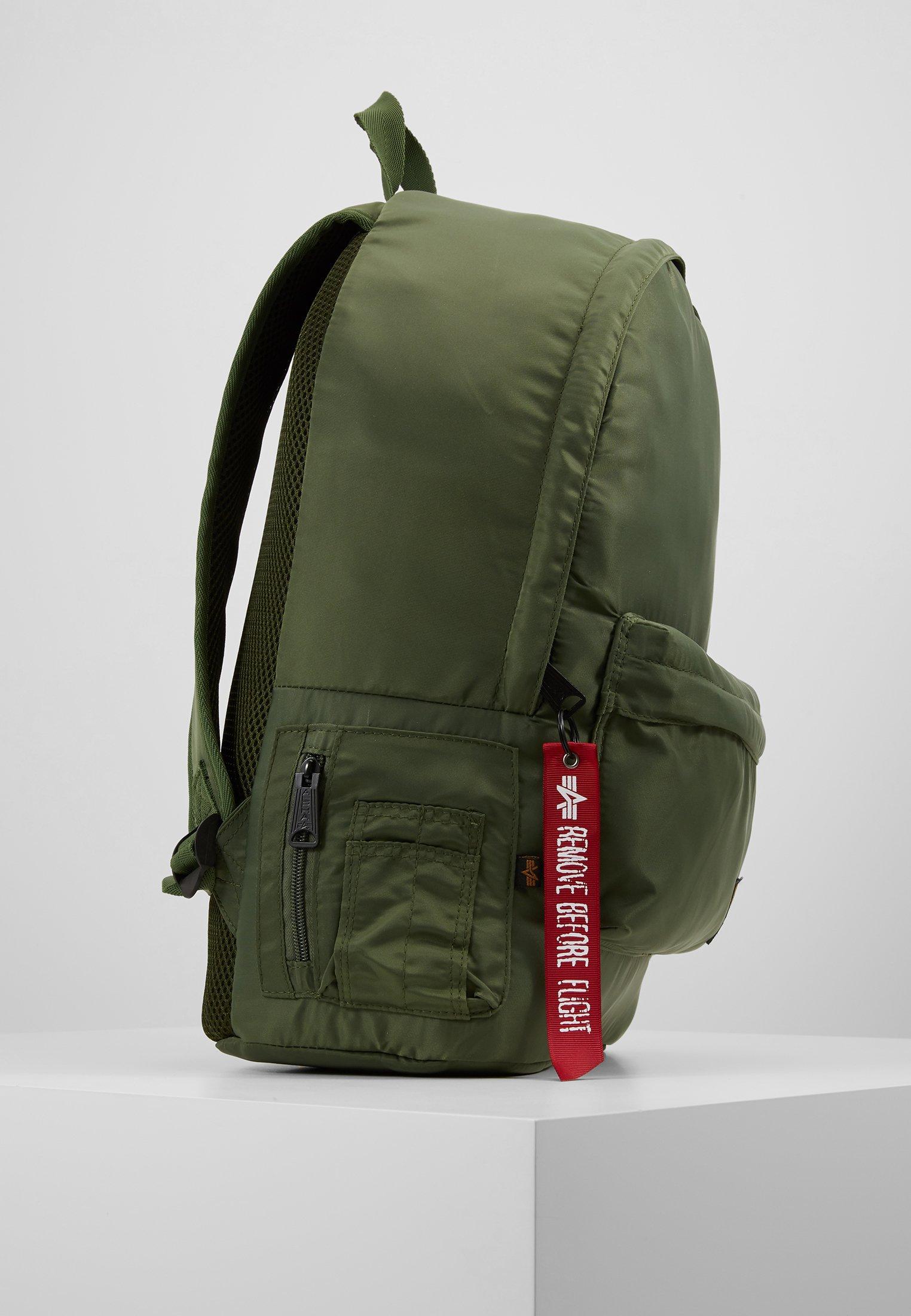 Alpha Industries CREW BACKPACK - Ryggsekk - sage green