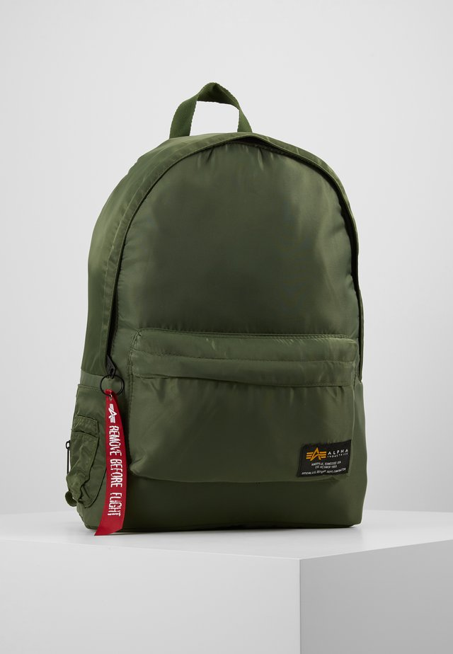 CREW BACKPACK - Reppu - sage green