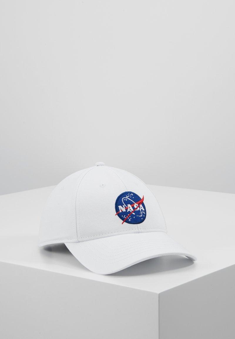 Alpha Industries - NASA - Kšiltovka - white