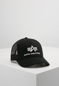 Alpha Industries - BASIC TRUCKER - Pet - black - 0