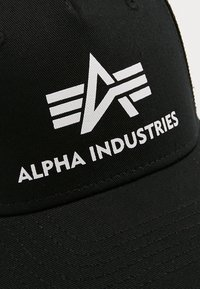 Alpha Industries - BASIC TRUCKER - Pet - black - 5