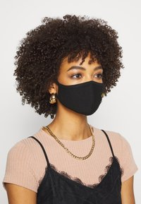 Alpha Industries - CREW FACE MASK - Community mask - black - 1