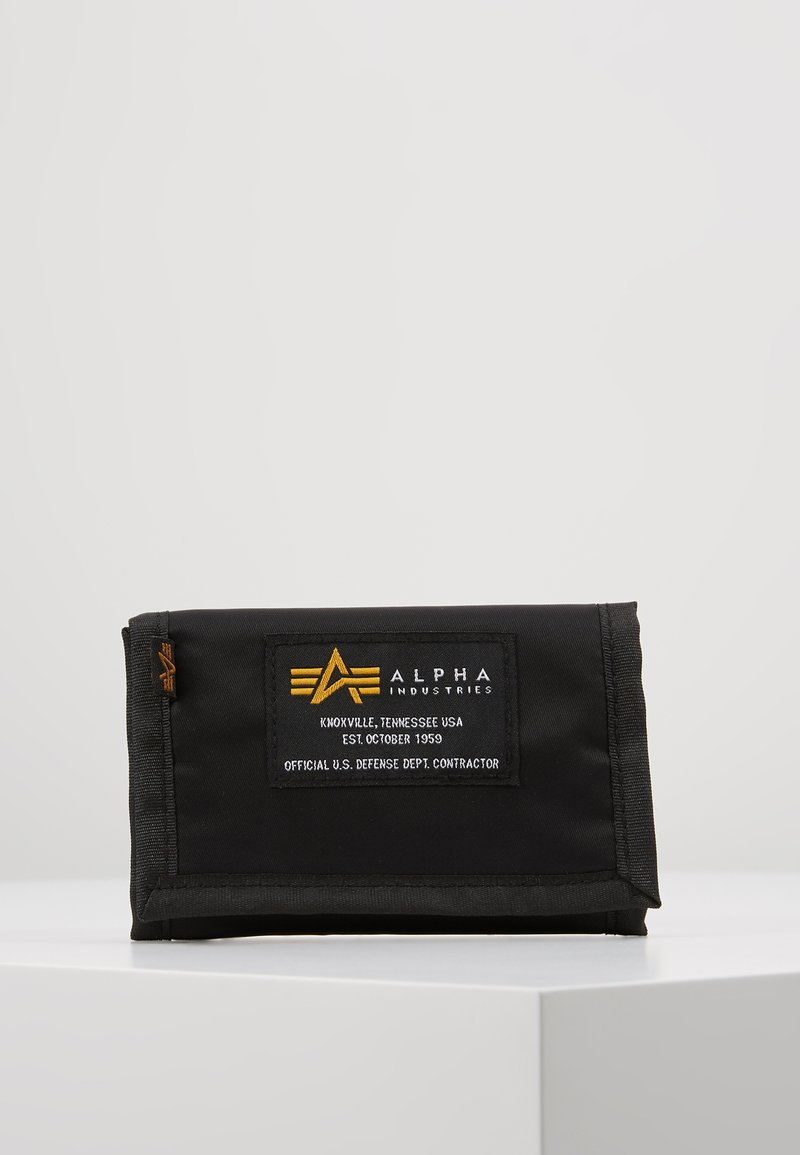 Alpha Industries - CREW WALLET - Wallet - black