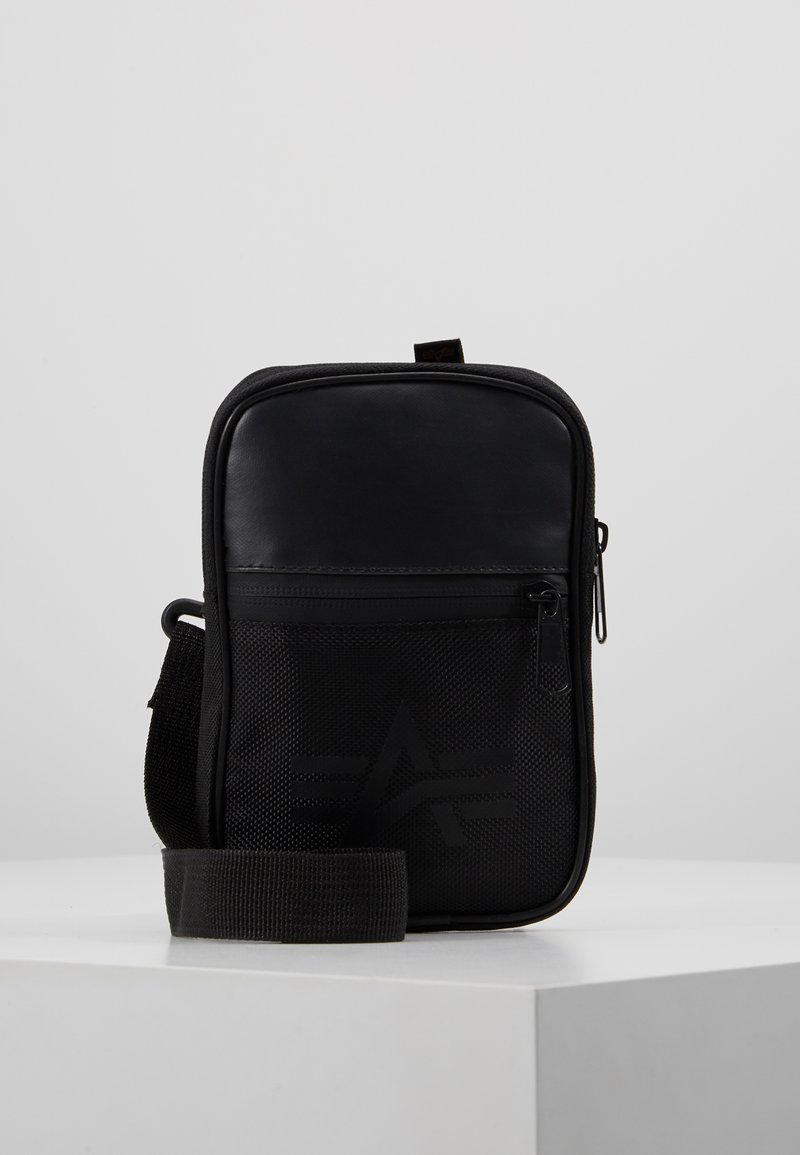 Alpha Industries - UTILITY BAG - Across body bag - black
