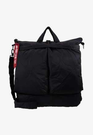 ALS HELMET BAG - Shoppingväska - black