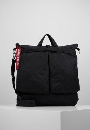 ALS HELMET BAG - Shoppingväska - black