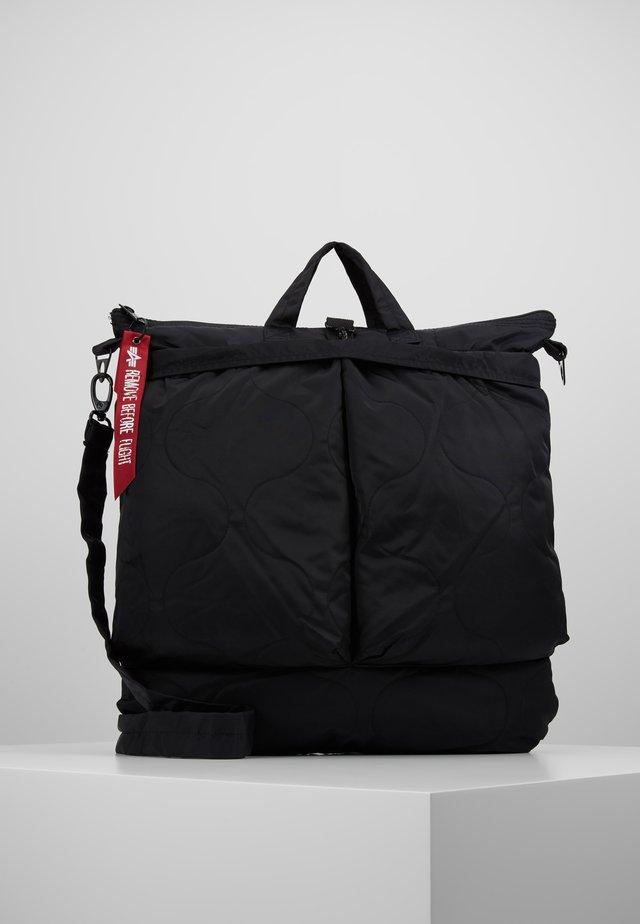 ALS HELMET BAG - Shopping bag - black