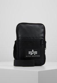 Alpha Industries - UTILITY BAG - Taška spříčným popruhem - black - 0