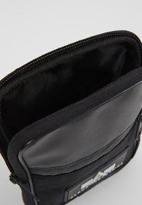 Alpha Industries - UTILITY BAG - Taška spříčným popruhem - black - 4