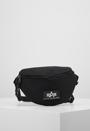 PRINT WAISTBAG - Ledvinka - black