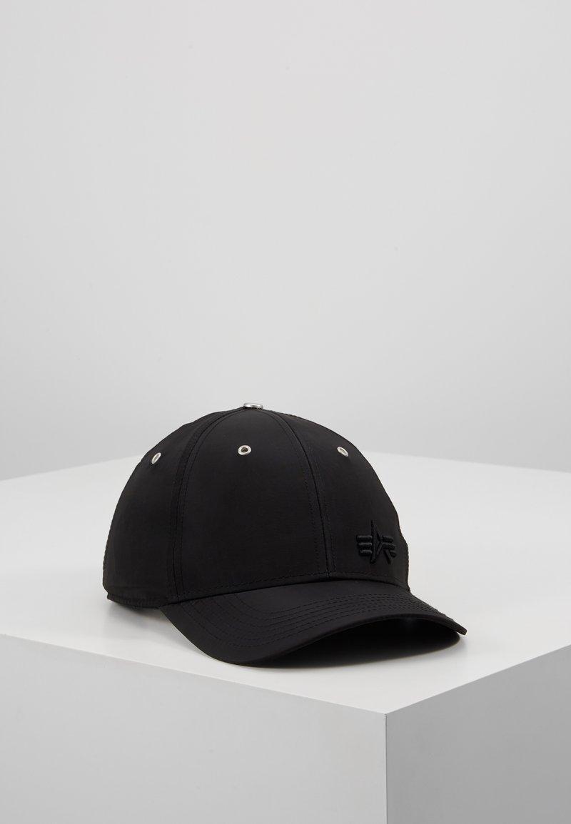 Alpha Industries - SMALL LOGO FLIGHT  - Cap - black