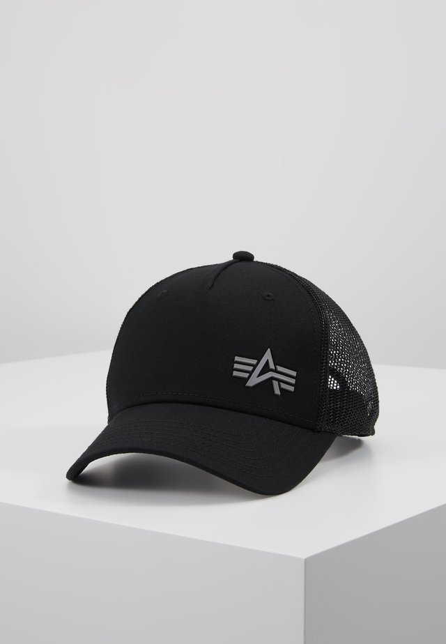 TRUCKER SMALL LOGO - Keps - black