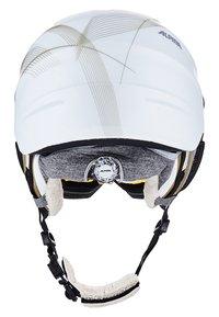 Alpina - GRAP VISOR - Helmet - white prosecco matt - 3