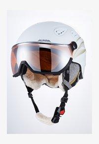 Alpina - GRAP VISOR - Helmet - white prosecco matt - 1