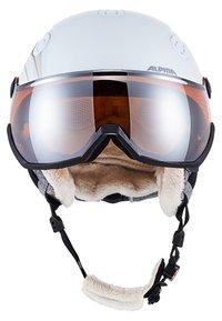 Alpina - GRAP VISOR - Helmet - white prosecco matt - 2