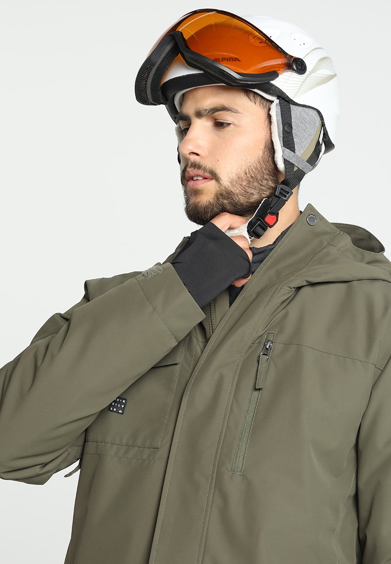 Alpina - GRAP VISOR - Helmet - white prosecco matt