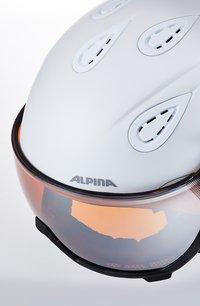 Alpina - GRAP VISOR - Helmet - white prosecco matt - 6