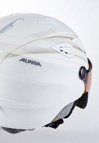 Alpina - GRAP VISOR - Helmet - white prosecco matt - 5