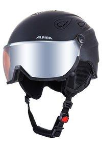 Alpina - GRAP VISOR - Hjälmar - black matt - 2