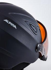 Alpina - GRAP VISOR - Hjälmar - black matt - 5
