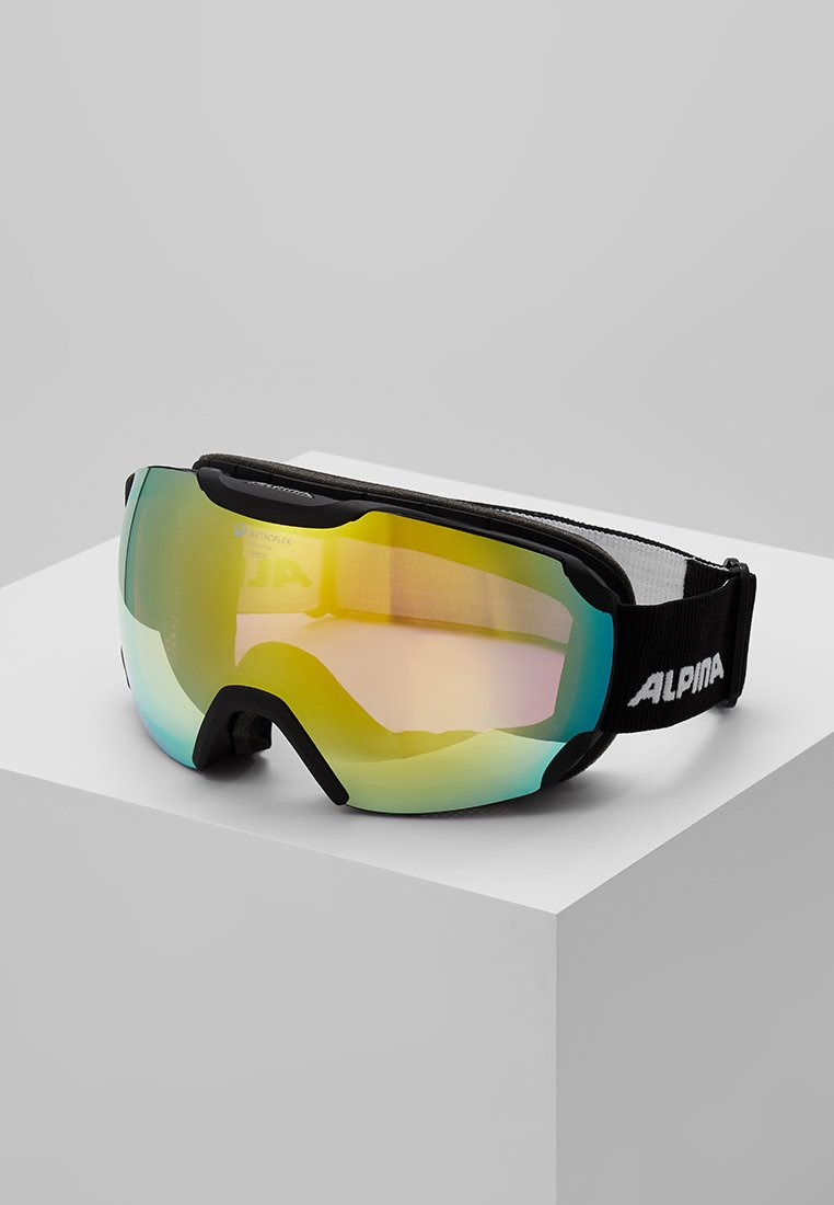 Alpina - PHEOS QMM - Skidglasögon - black matt