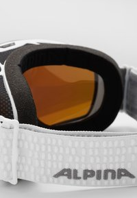 Alpina - GRANBY MM - Ski goggles - white - 3