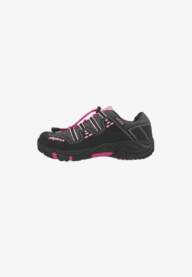 Hikingschuh - schwarz