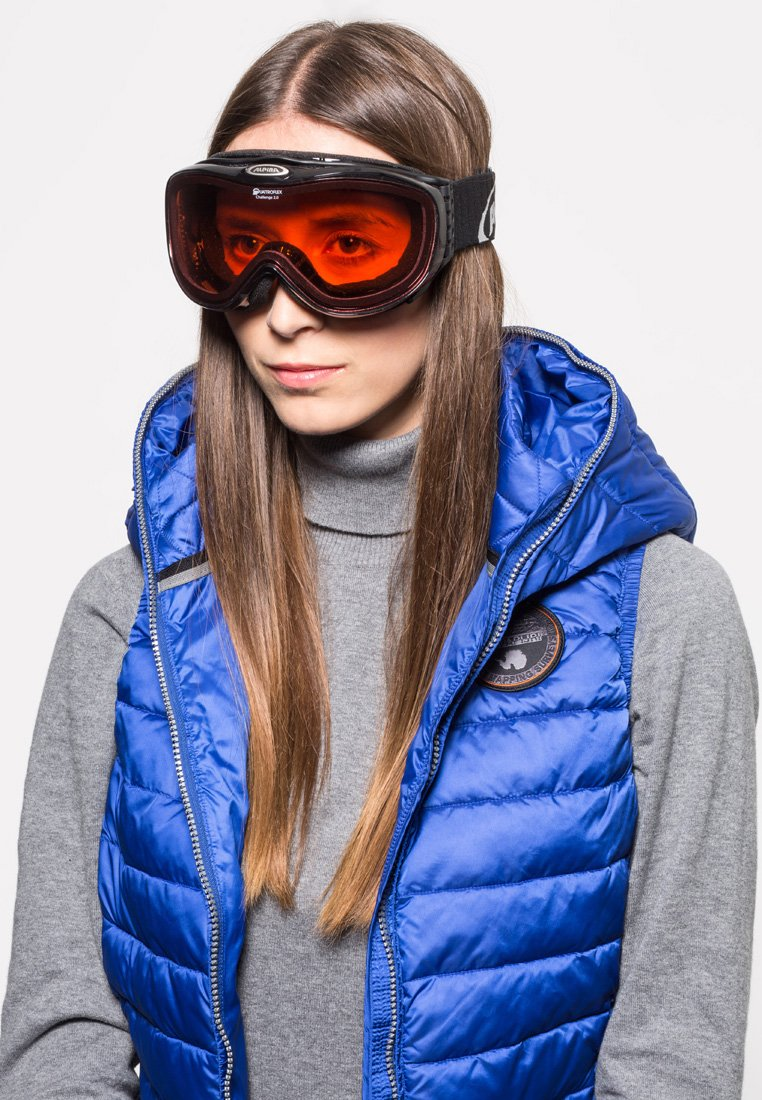 Alpina - Ski goggles - black