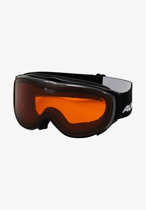 CHALLAGE - Skibrille - black transparent