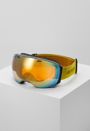 BIG HORN - Masque de ski - grey/curry