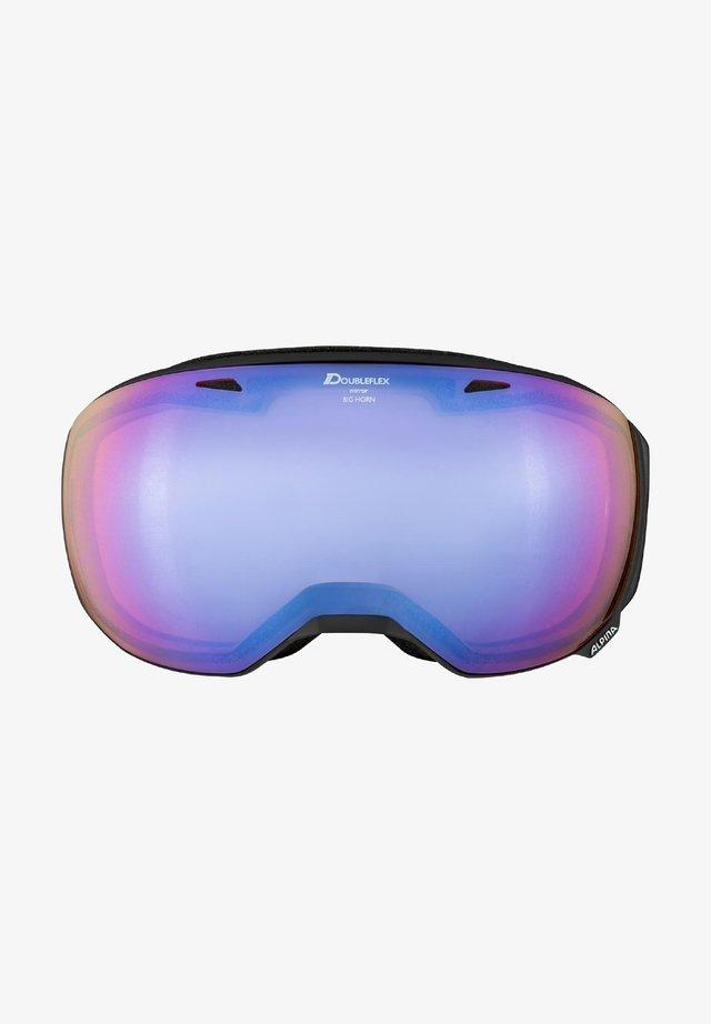 BIG HORN - Ski goggles - black matt (a7207.x.36)
