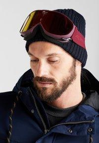 Alpina - CHALLENGE 2.0 - Ski goggles - cassis - 1