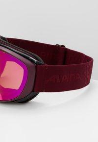 Alpina - CHALLENGE 2.0 - Ski goggles - cassis - 2