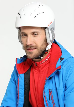 SPICE - Helmet - white/flamingo matt