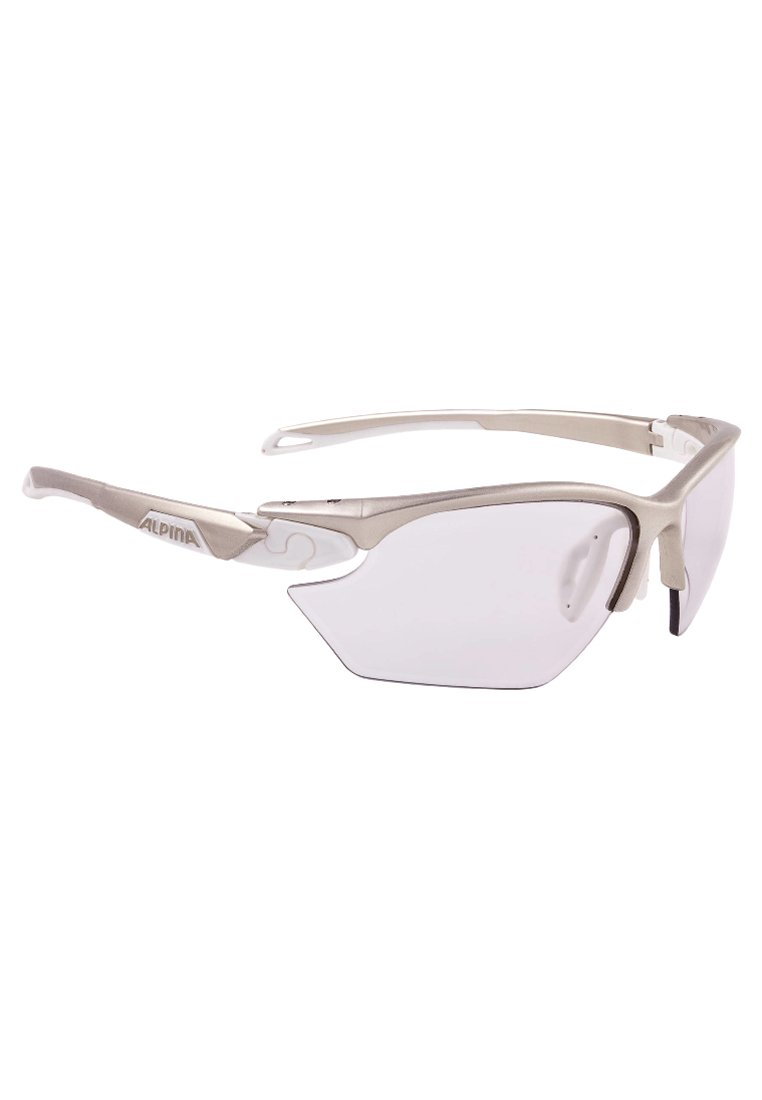 Alpina - TWIST FIVE HR S VL+ - Sportbrille - white