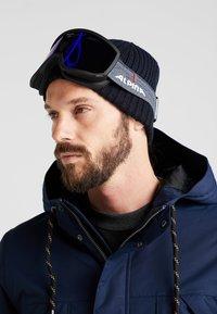 Alpina - SCARABEO M - Masque de ski - black matt - 1