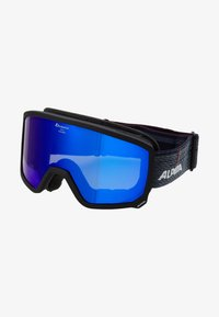 Alpina - SCARABEO M - Masque de ski - black matt - 4