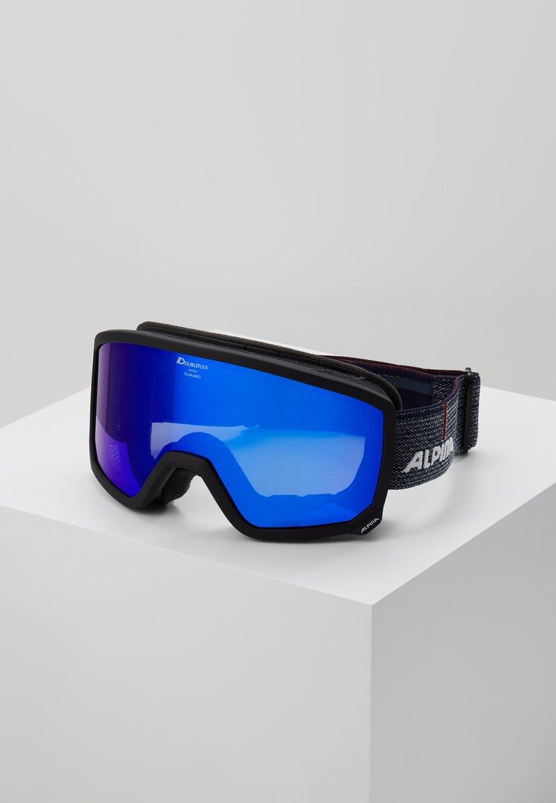 Alpina - SCARABEO M - Masque de ski - black matt
