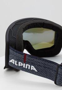 Alpina - SCARABEO M - Masque de ski - black matt - 2