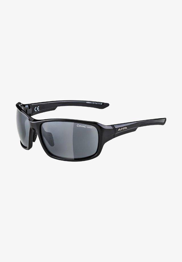 LYRON - Sports glasses - black-grey